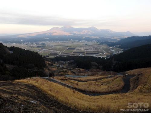 阿蘇内牧ドライブ(二重の峠)