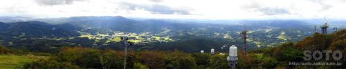 室根山(天文台屋上からのパノラマ)
