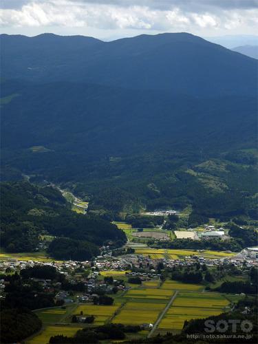 室根山(天文台屋上からの眺め)