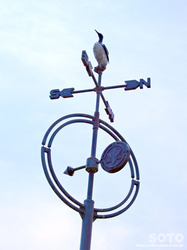 羽幌の風見鶏