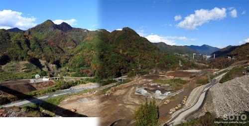 八ッ場(八ッ場大橋からの眺め01)
