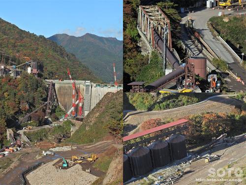 八ッ場(八ッ場大橋からの眺め03)