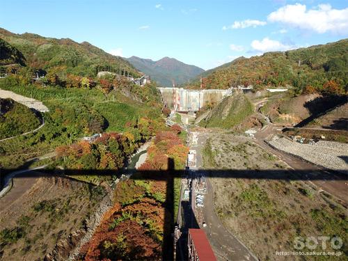 八ッ場(八ッ場大橋からの眺め05)