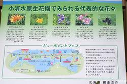 小清水原生花園(案内板)