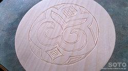 木彫り体験(3)