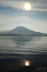 阿寒湖カヌー体験(雄阿寒岳)