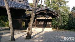 江戸東京たてもの園(伊達家の門)
