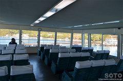 十和田湖-休屋(遊覧船グリーン室)