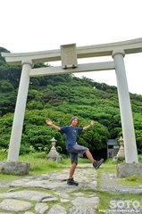 雄島・大湊神社の鳥居
