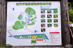 田代平湿原(案内図)