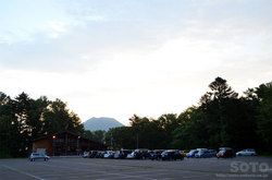 阿寒湖畔キャンプ場の朝