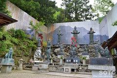 石鎚山(銅像群)