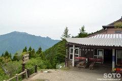 石鎚山(ロープウェー成就駅)