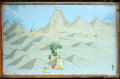 石鎚山(登山地図)