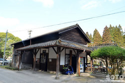 大畑駅(駅舎)