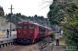大畑駅(いさぶろう しんぺい号)