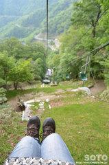 剣山観光登山リフト(下り)