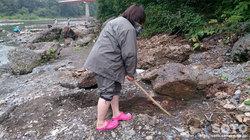 砂金掘り体験(1)