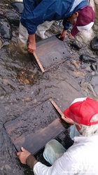 砂金掘り体験(4)
