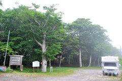 復興の森(駐車場)