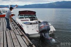 屈斜路湖・モーターボート(1)