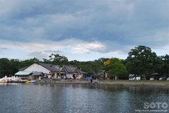 屈斜路湖・モーターボート(砂湯)