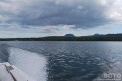 屈斜路湖・モーターボート(2)