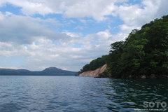 屈斜路湖・モーターボート(4)