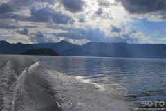 屈斜路湖・モーターボート(9)