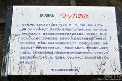 ワッカ原生花園(ワッカの水/看板)