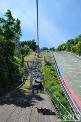 大倉山(リフト上り)