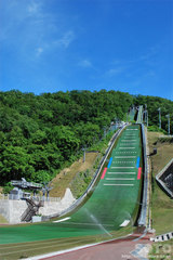 宮の森ジャンプ競技場(1)