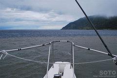 知床観光船(2色の海)