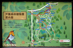 戸隠森林植物園(案内図)