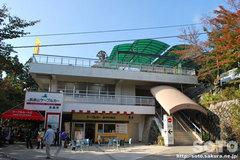 筑波山ケーブルカー乗り場