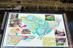 蓮の郷(案内図)