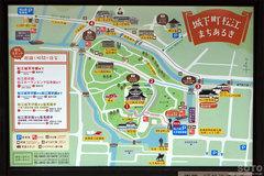 松江城(案内図)