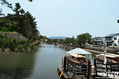 松江城(遊覧船乗り場)