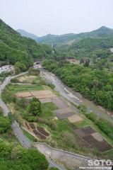 八ッ場(不動大橋からの眺め)
