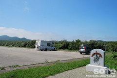 百人浜(駐車場)