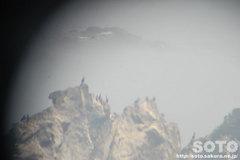 襟裳岬(望遠鏡から)