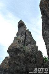 ゴジラ岩(2)