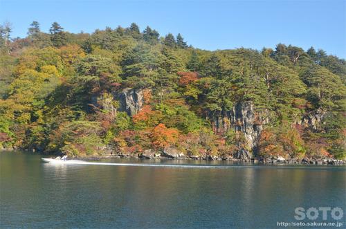十和田湖の紅葉2014