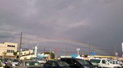 2015/09/03の虹