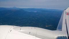 飛行機内から(1)