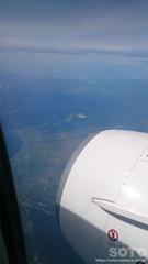 飛行機内から(3)