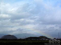 2011/11/21の虹
