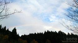 2015/12/14の虹