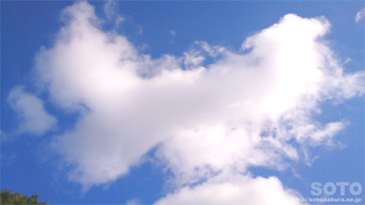 2014/12/22の空と雲