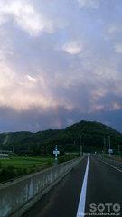 2013/08/20の虹